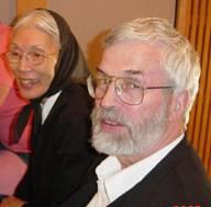 Don Murphy med sin hustru Michiko Koyama