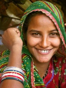Indisk kvinna