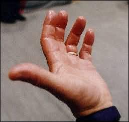 Olja på fingertopparna