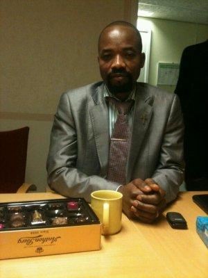 Bilden är tagen på förvaret i Flen december 2011. Jean Kabuidibuidi tillbringade 130 dagar i förvaret i Flen innan han slutligen utvisades igår, den 23 februari 2012. Fotograf: #PastorJean. Media får använda bilden i pressmeddelandet fritt.