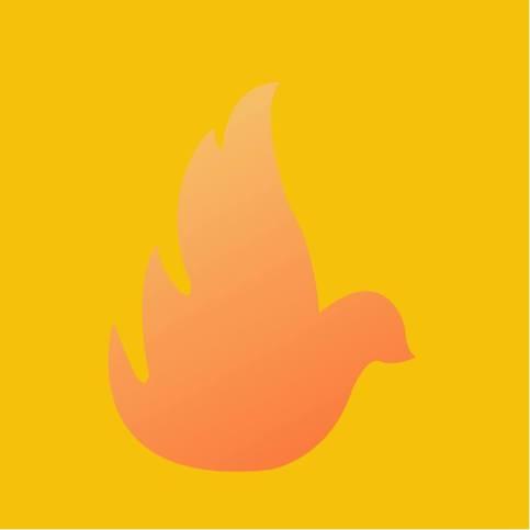 Hela Pingstens uppdaterade logga, av Jessica Svahn