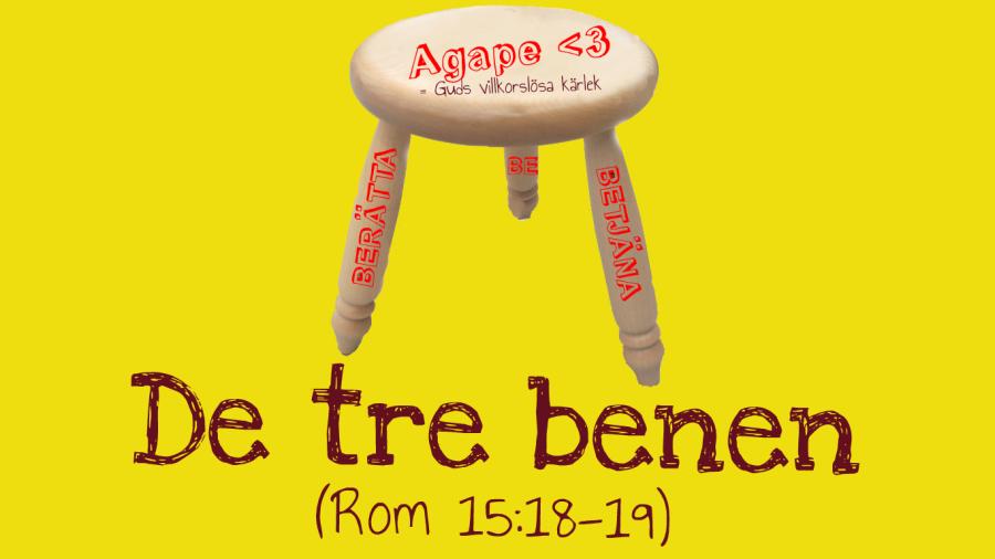 Pannkakskyrkans tre ben: berätta, betjäna och be