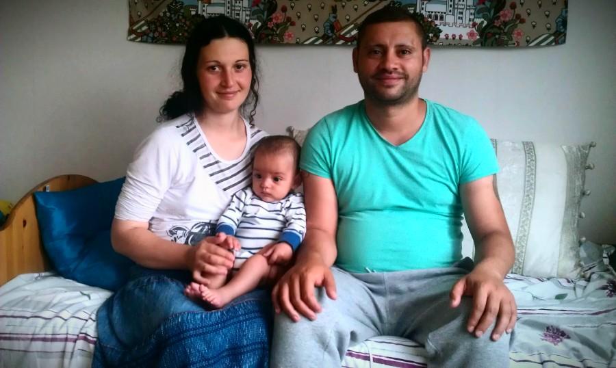Crina, Denis och Mures