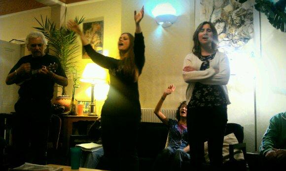 En av Jesus Armys kommunitet i London: Spreading Flame