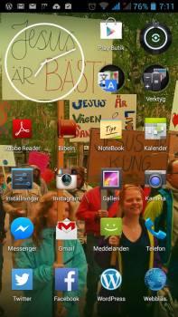 fairphone screen shot