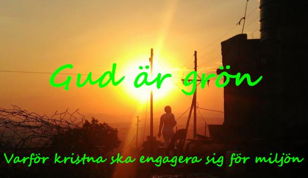 Gud är grön logga