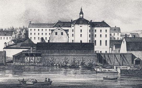 Spinnhuset på Långholmen där flera Gråkoltar satt inspärrade
