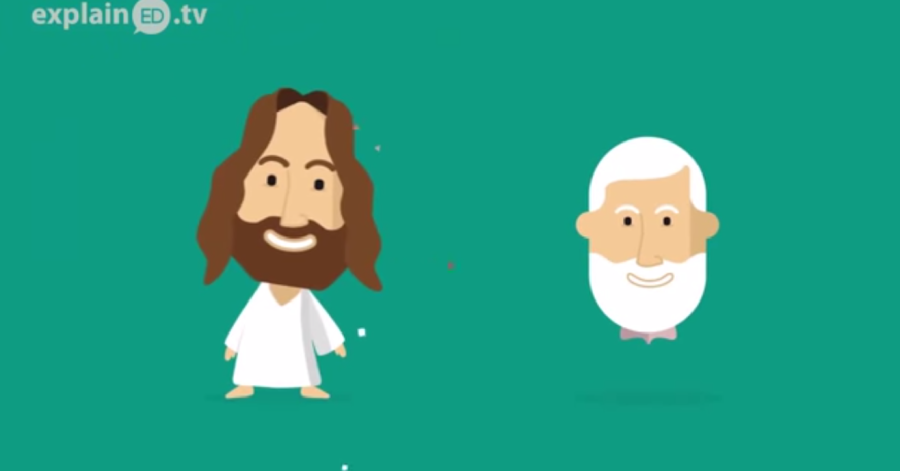Jesus och John