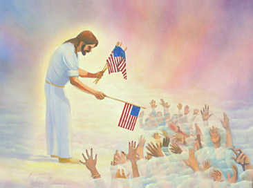 Jesus som patriot för ett ickesvenskt land