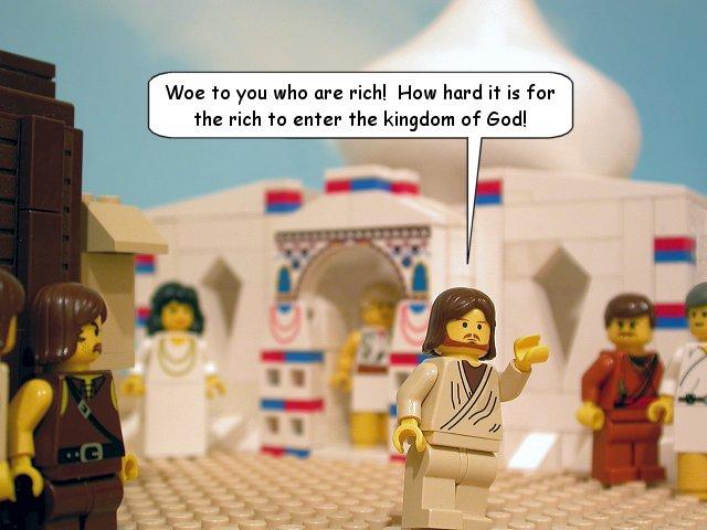 Jesu ord till de rika (Luk 6:24, Mark 10:24)