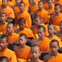 Västerlänningars rosafluffiga bild avbuddhismen