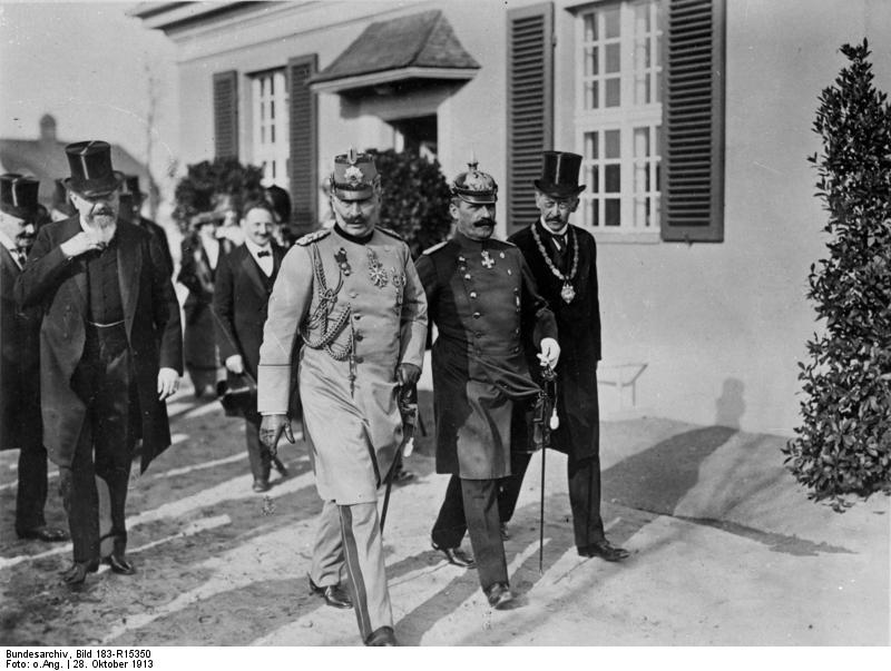 Einweihung des Kaiser-Wilhelm-Instituts in Dahlem
