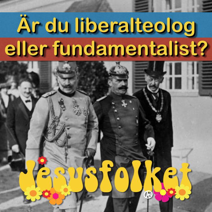 Är du liberalteolog eller fundamentalist?