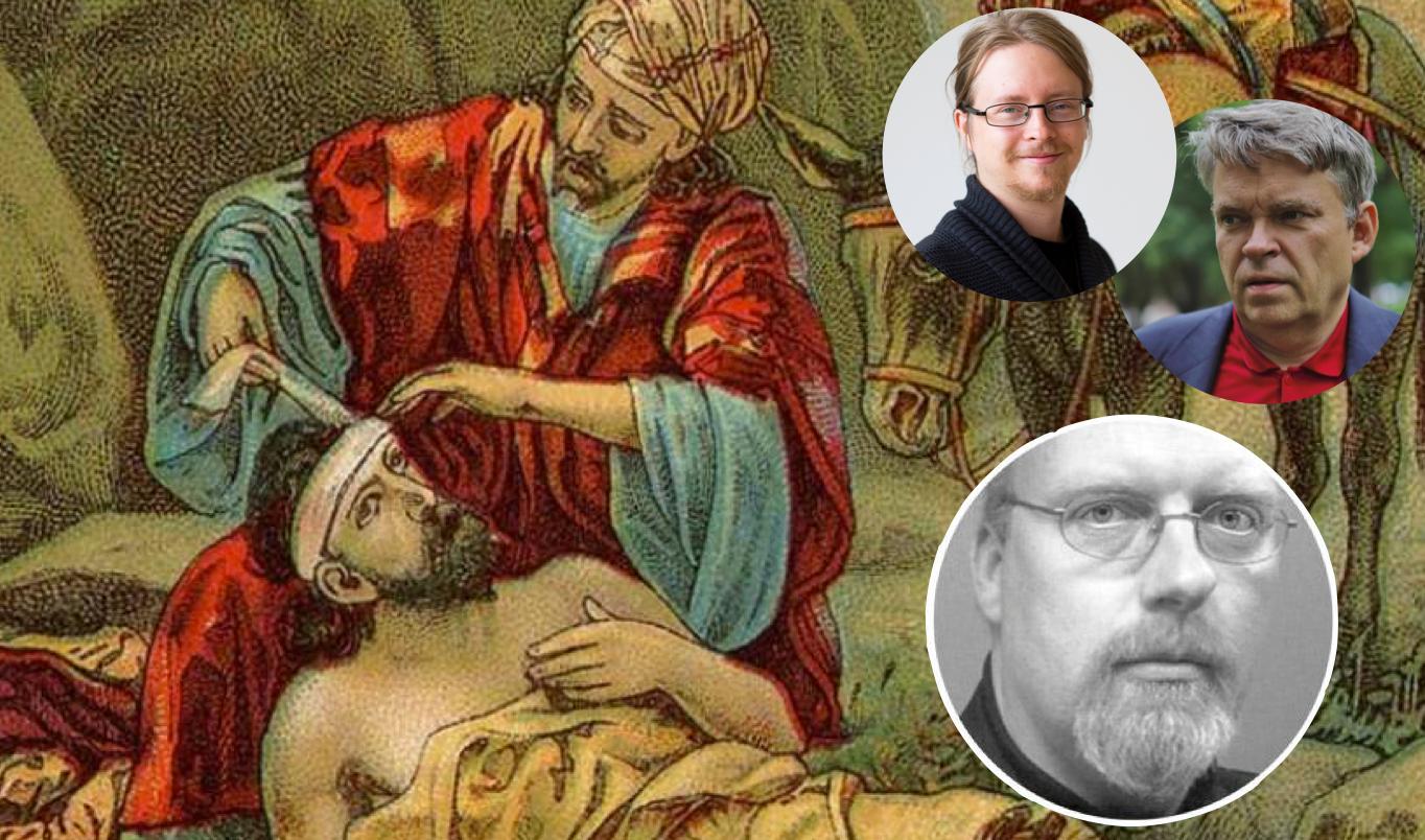 """Lars Eklunds misslyckade försök att beskriva en """"kristen"""" flyktingpolitik"""
