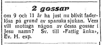 EH 1918 gossar