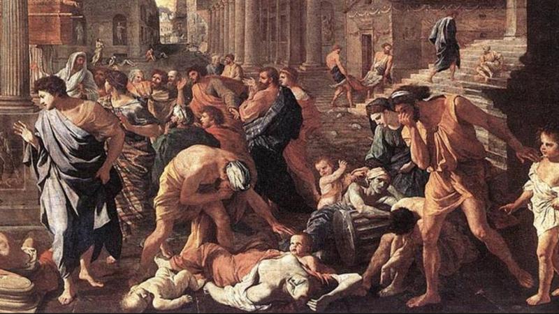 Den tidiga kyrkan lät sig inte begränsas av pandemier
